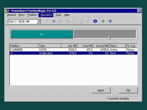 Using Partition Magic To Manage Your Disks